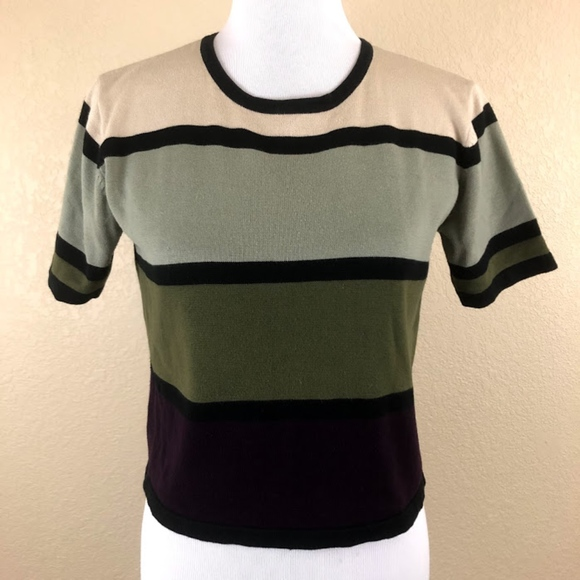 Milano Tops - Milano Design Group Block Multicolored Top
